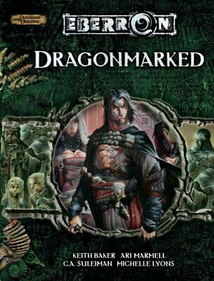 Dragonmarked (Eberron) by Baker, Keith Hardback Book The Cheap Fast Free Post