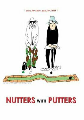"""Nutters with Putters by McIver, John """"Big Top Ted"""" Paperback Book The Cheap Fast"""