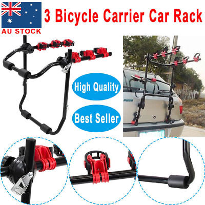 3 Car Rear Bicycle Bike Rack Mount Cycle Carrier Universal Hatchback Foldable