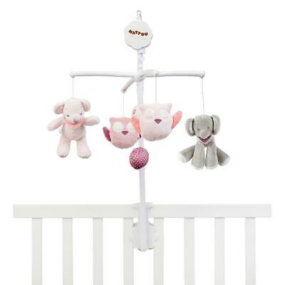 Nattou Cot Mobile with Music, Adele & Valentine Collection Free Shipping!