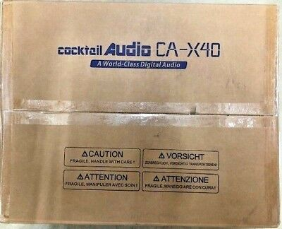 Cocktail Audio X40 in Black - Music Server / CD Ripper / DAC / Streamer