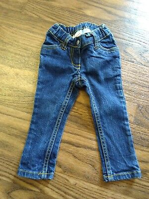 Hanna Andersson Girls Skinny Jeans Size 18-24 Months EUC