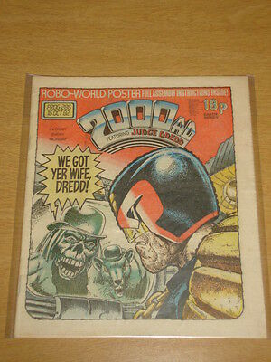 2000Ad #286 British Weekly Comic Judge Dredd Oct 1982 *