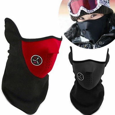 Outdoor Windproof Anti Dust Filter Half Face Mask Motorcycle Cycling Bicycle Ski