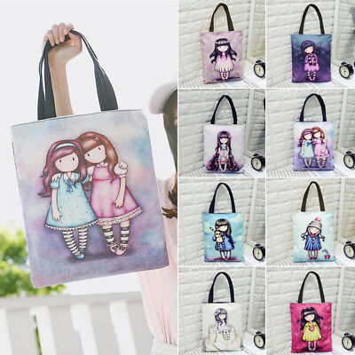 Women Hobo Canvas Shoulder Bags Girl Purse Satchel Tote Handbag Outdoor Gifts