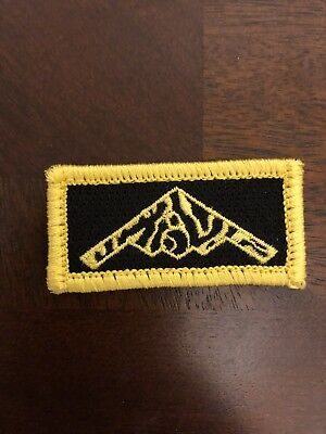 B-2 Stealth Bomber Pencil Tab Patch, 393rd Tigers Bomb Squadron