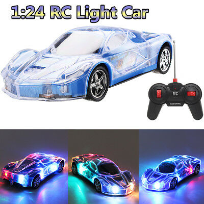 High Speed RC Racing Car Remote Control 3D Light Buggy Toy Kid Christmas Gift
