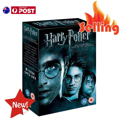 Harry Potter 1-8 Movie DVD Complete Collection Films Box Set New Sealed Gifts AU