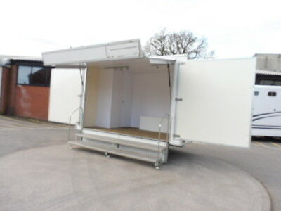Used 3.6m Towmaster Exhibition Twin Axle Trailer