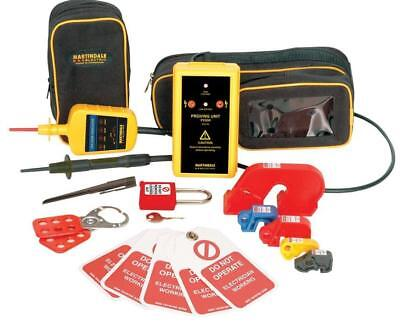 Locking Off Kit With Voltage Indicator & Proving Unit - MARTINDALE ELECTRIC