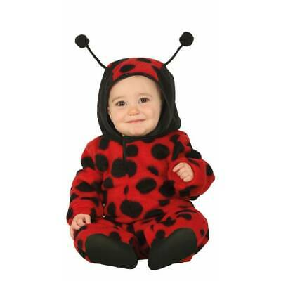 Cute Baby & Toddler Ladybird Bug Ball Jumpsuit Insect Book Week Fancy Dress