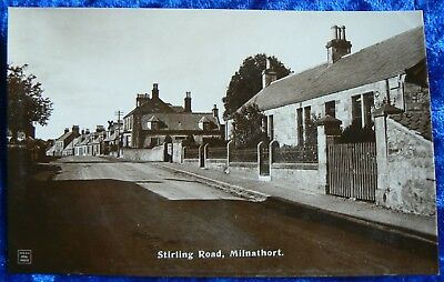"""Andrew GardinerPostcard showing a view of """"Stirling Road, Milnathort"""""""