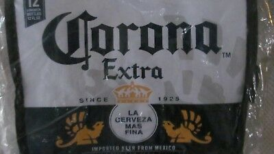 Corona Beer Insulated Cooler Bag Holds 12 Pack *nwt*