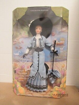 Promenade in the Park Barbie 1997 1st Series Great Fashions of the 20th Century