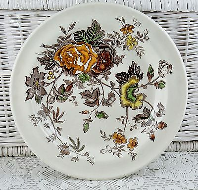 """Masons Chantilly 12.5"""" Charger Floral Serving Plate Platter Mismatched Tea Party"""