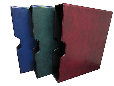 Prestige Loose Leaf Stamp Album Slipcase Only - Blue Green Or Burgundy