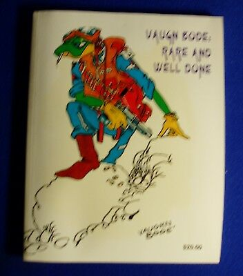 Vaughn Bode Rare And Well Done. underground  paperback.All Bode Art  VFN+. rare.