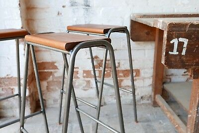 Groovy Vintage Retro Industrial School Stacking Science Lab Cafe Ocoug Best Dining Table And Chair Ideas Images Ocougorg