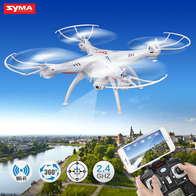 Syma X5SW WIFI FPV 2.4Ghz 4CH 6-Axis RC Quadcopter Drone Camera HD M2P3Z