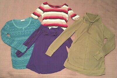 BIG LOT Of 14 Maternity Small Shirts Liz Lange Motherhood