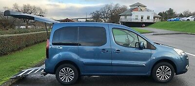 PEUGEOT PARTNER TEPEE HORIZON S 1.6HDi WHEELCHAIR ACCESSIBLE DISABLED VEHICLE