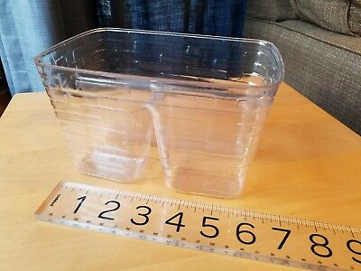 Longaberger Seashell basket divided protector ~NEW 49832