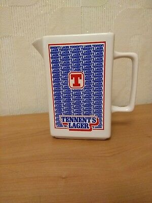 Tennent's Lager  Water Jug In Good  Used Condition