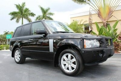 2008 Land Rover Range Rover HSE 2008 LAND ROVER RANGE ROVER HSE 70K MILES JUST SERVICED GORGEOUS 239-693-4000
