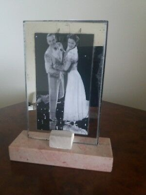 French Art Deco 1930s Marble Photo Frame