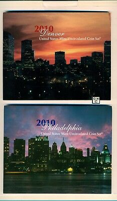 2010 U.S. Mint Set with 28 Philadelphia & Denver Uncirculated Mint Coins (OOAK)
