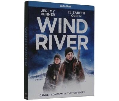 Wind River 2016 Blu-Ray w/ Slipcover Movie New Sealed Jeremy Renner US SELLER