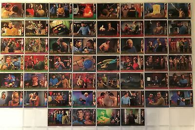 Star Trek TOS Character Log Season 2 Skybox (52) Trading Base Card Set 1998