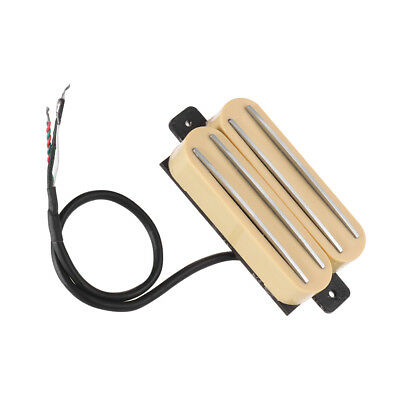 Professional Double Twin Hot Rail Humbucker Pickup + 4 Wires For E-Guitar K6U4