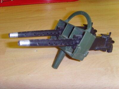 Vintage Action Man Armoured Jeep Hard to Find Machine guns on Mounts