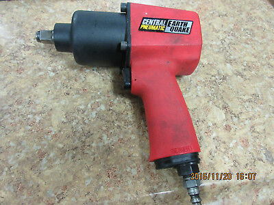 Central Pneumatic Earth Quake 1/2'' Professional Air Impact Wrench 68424