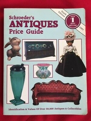 Schroeder's Antiques Price Guide paperback book