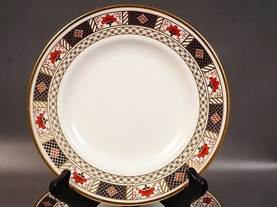 ROYAL CROWN DERBY BORDER IMARI 1253 Luncheon/Salad Plate(s)