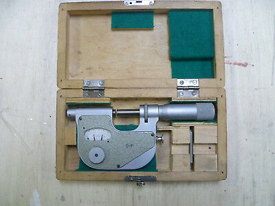 """1"""" Dial Indicating Micrometer Excellent Condition"""