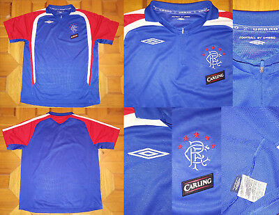 Maglia Shirt jersey POLO UMBRO RANGERS GLASGOW CARLING Allenamento training