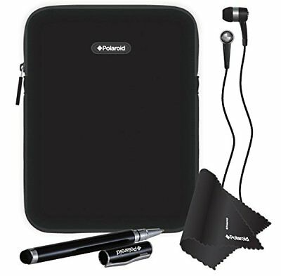 4 Piece Tablet Accessory Kit For 8-Inch Tablets and eReaders, Includes Sleeve Ca