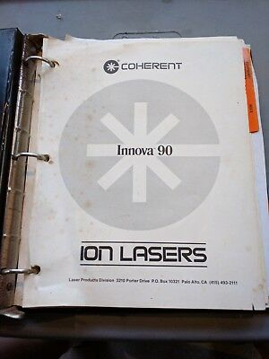 Coherent Innova 90 Ion Laser Manual