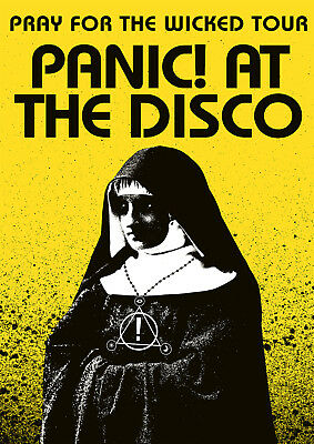 Panic at the Disco Poster Pray for the Wicked New 2018, FREE P+P, CHOOSE UR SIZE