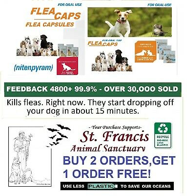 8 S-M Equal to Same Ingredient as Capguard dogs FleaTreatment 2 ORDERS FREE