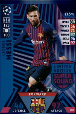 2018-19 Topps UEFA Champions League Match Attax Insert Singles (Pick Your Cards)