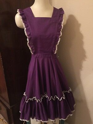 Vtg Partners Please Square Dance Dress Womens Sz 8