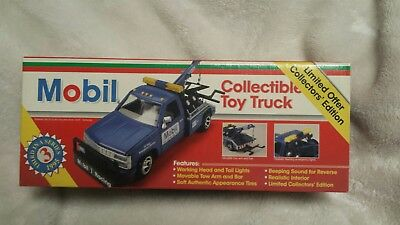 Vintage 1995 Mobil Collectible Toy Truck in Original Box / Collector's Edition