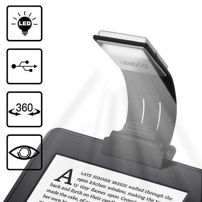 Lamp of Reading T Flexo LED Clamp with load USB 4 Levels brightness