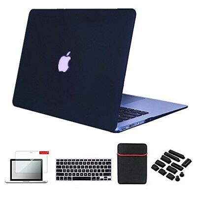 Se7enline Macbook Air Case Cover 5 in 1 Bundle Soft-Touch Plastic Hard Case Cove