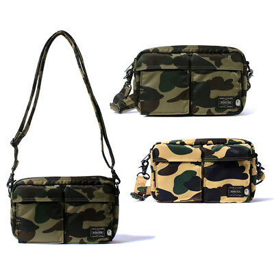 b073b000f155 PORTER x BAPE A Bathing Ape 1st Camo Shoulder Bag (S)