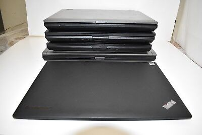 Mixed Lot of 5  Dell E6510-E5410-E5400-E6400 and 1 Lenovo X1 Carbon i5&i7 No HD